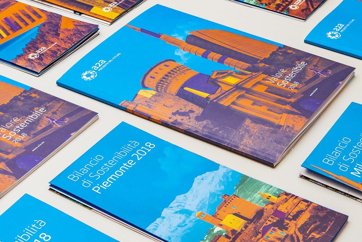Copertine Brochure Bilancio Sostenibilità