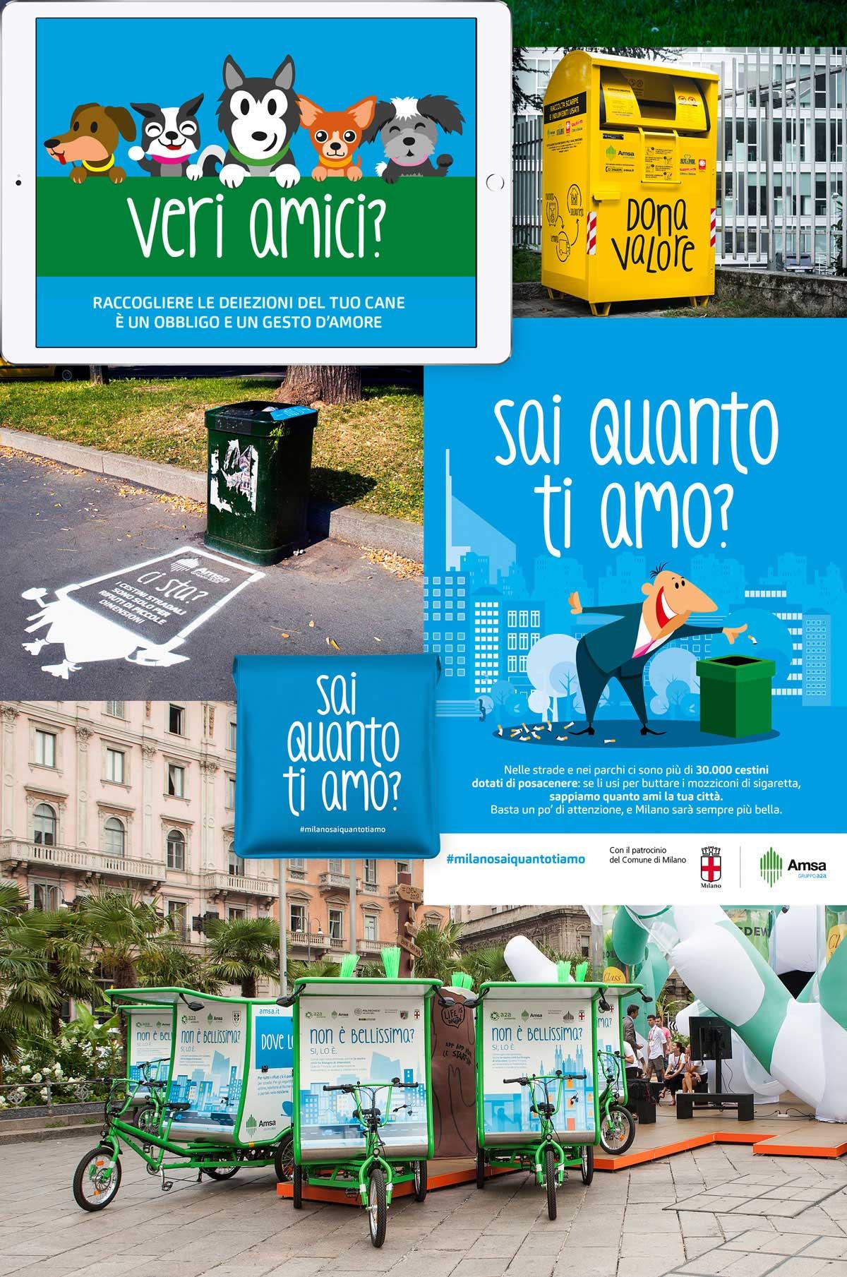 adv e web per progetti Amsa Milano
