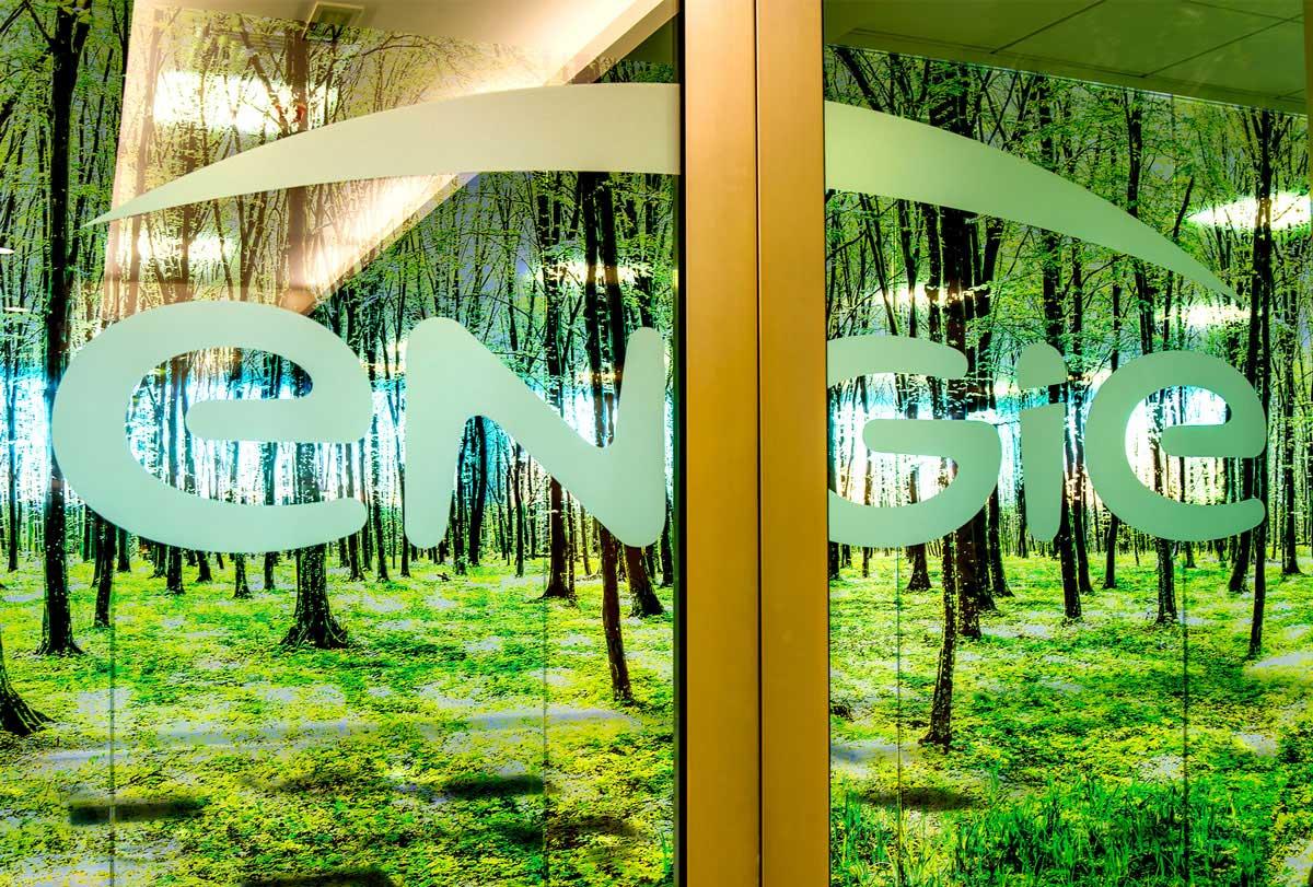 vetrofania ENGIE sede Milano