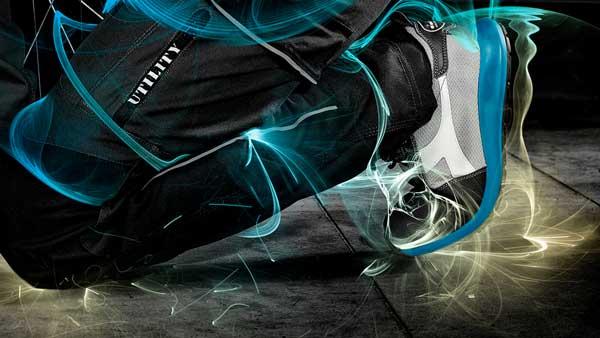 pantaloni e scarpe diadora utility