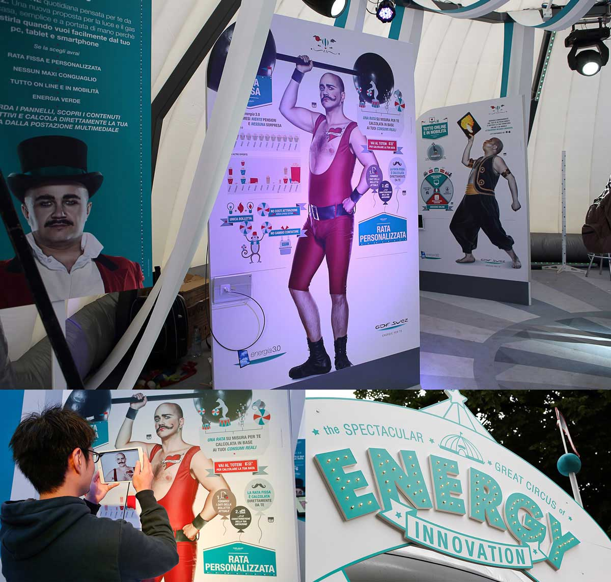 stand Energy Circus al Wired Next Fest