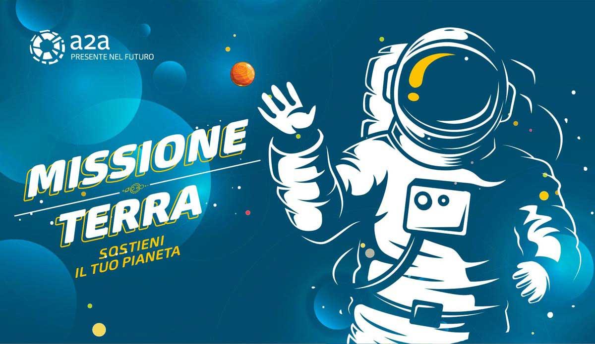 gioco da tavolo Missione Terra Gruppo A2A