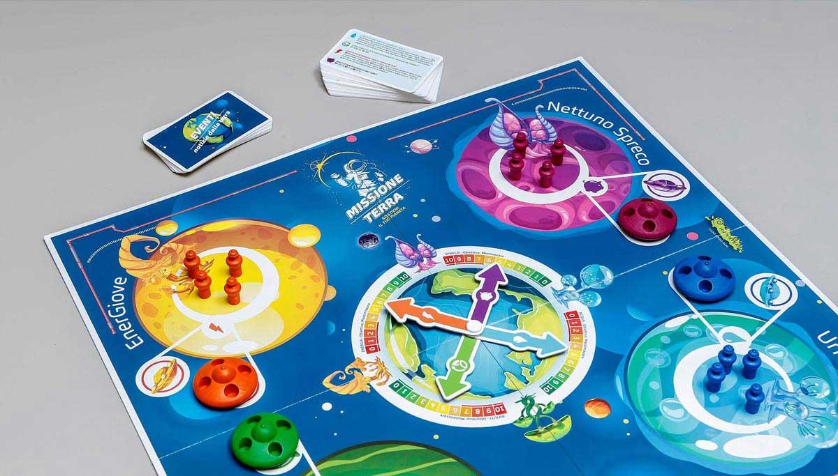 gioco da tavolo Missione Terra