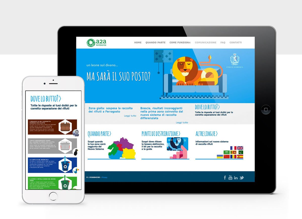 webapp campagna Differenziata Brescia