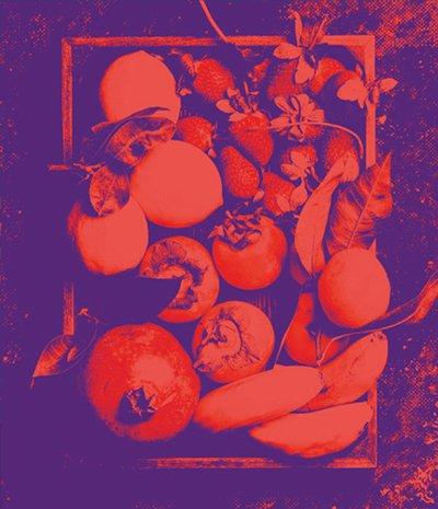Cassetta di frutta e verdura del mercato
